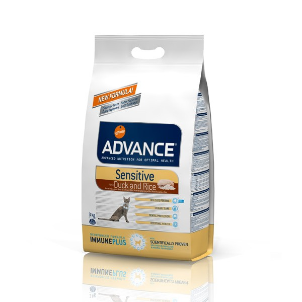 Advance Cat Sensitive Salmon & Rice 1,5 kg.