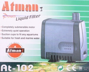 ATMAN Pumpa potopna AT102, (500 L/h), 8w, 1,05m