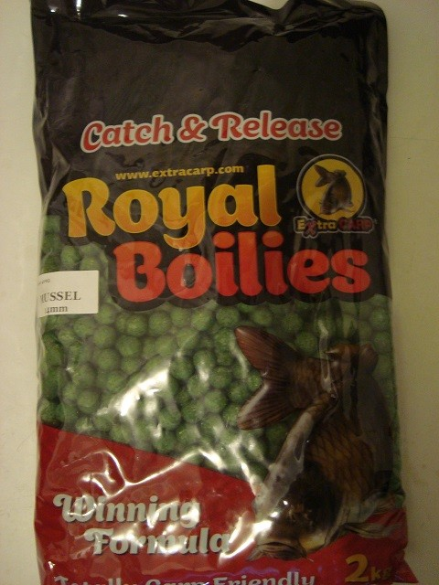 Boile Royal Extra Carp 13 mm Školjka 2 kg