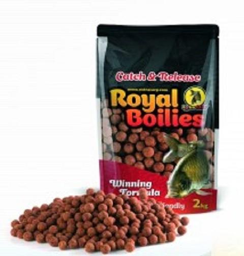 Boile Royal Extra Carp 20 mm JAGODA/RIBA 2 kg.