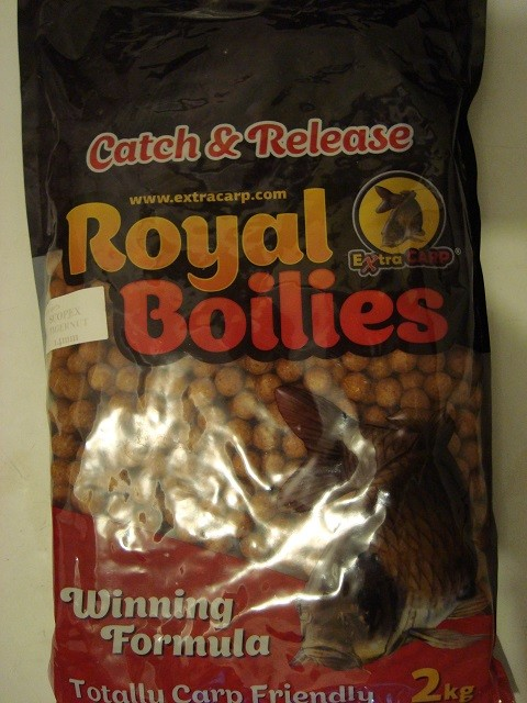 Boile Royal Extra Carp SCOPEX/TIGERNUT 13 mm 2 kg.