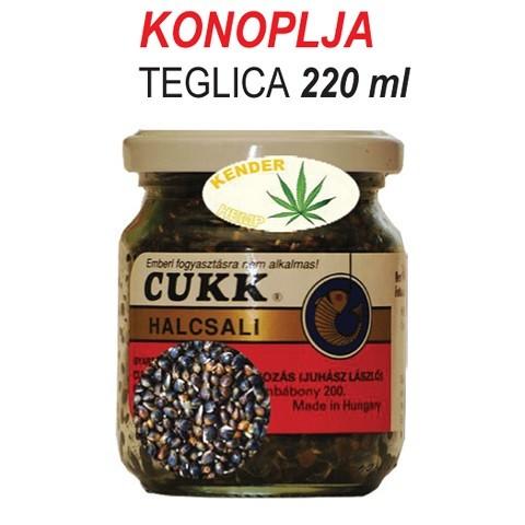 Cukk Konoplja u teglici 220 ml.