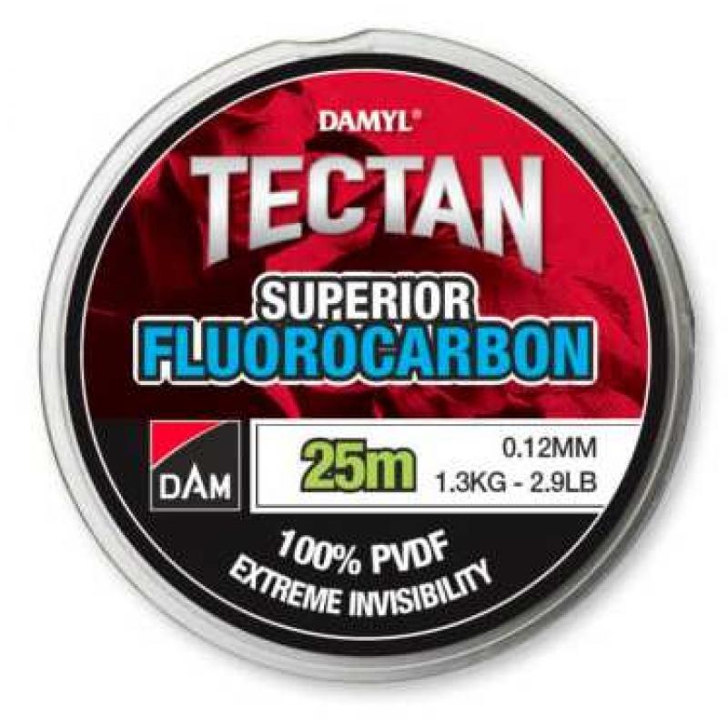 DAM Damyl Tectan Superior Fluorocarbon 0,25 mm 50 m.