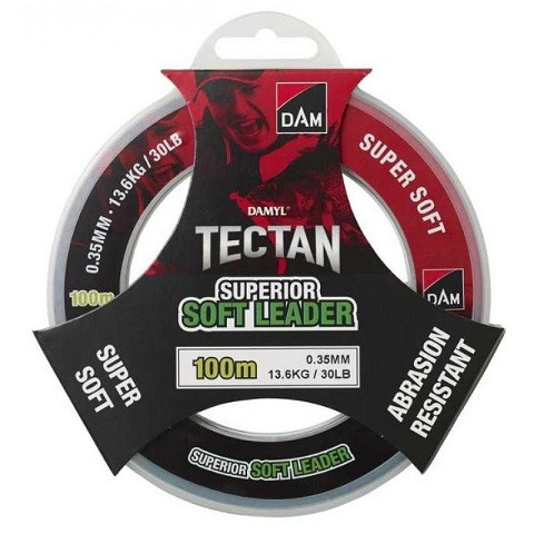 DAM Tectan Superior Soft Leader 0,60 mm. 100 m