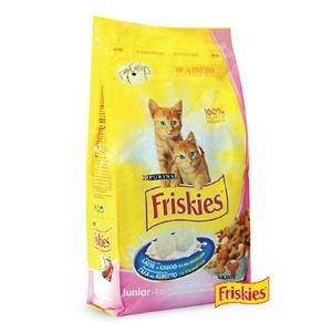 FRISKIES Briketi za mačiće JUNIOR Piletina, Mleko i Povrće