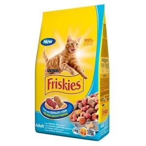 FRISKIES Briketi za mačke Adult Losos, Tuna i Povrće