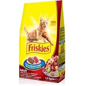 FRISKIES Briketi za mačke Adult Meso, Piletina i Povrće