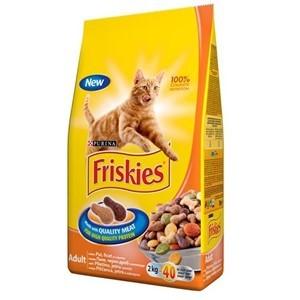 FRISKIES Briketi za mačke Adult Piletina i Povrće