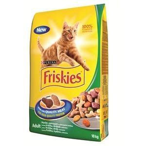 FRISKIES Briketi za mačke Adult Zečetina, Piletina i Povrće