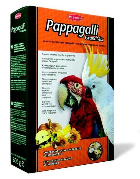 Grandmix pappagalli 600g