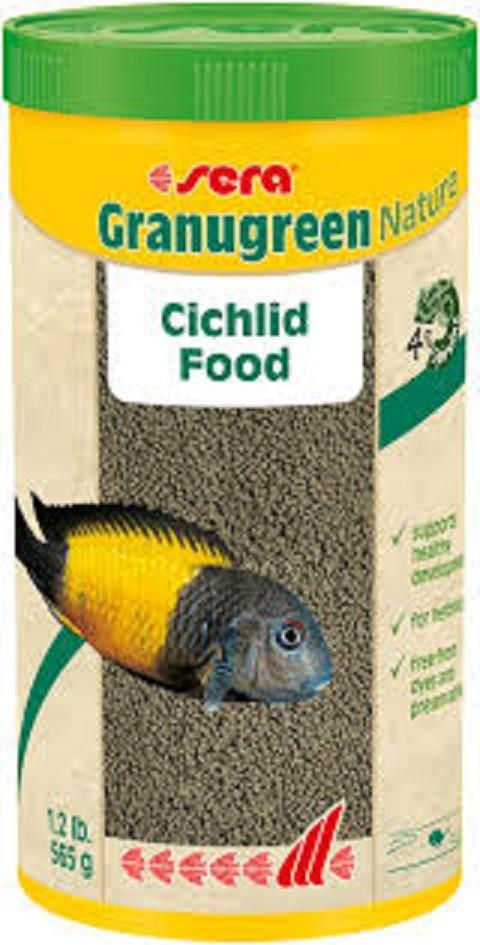 Hrana za ciklide Granugreen Nature 250 ml.