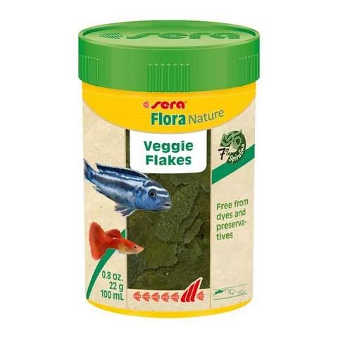 Hrana za ribe biljojede Flora 100 ml.