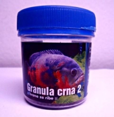 Hrana za ribice Crna granula 2 60ml.