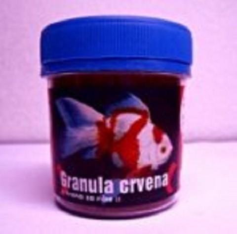 Hrana za ribice Crvena granula 60ml .