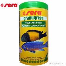Hrana za ciklide Granugreen 250 ml.