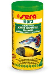 Hrana za ribe biljojede Flora