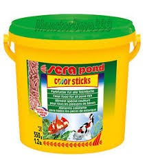 Hrana za ribice Pond Color Sticks