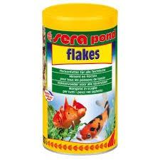 Hrana za ribice Pond Flakes, 1000 ml