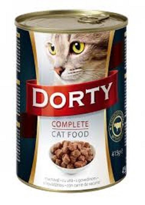 Konzerva za mačke Dorty-govedina
