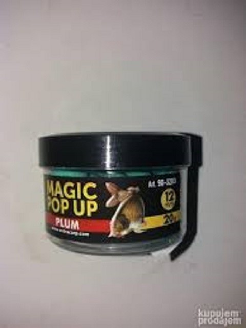 Magic pop up boile 12 mm