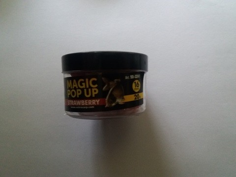 Magic pop up boile 16 mm JAGODA Extra Carp