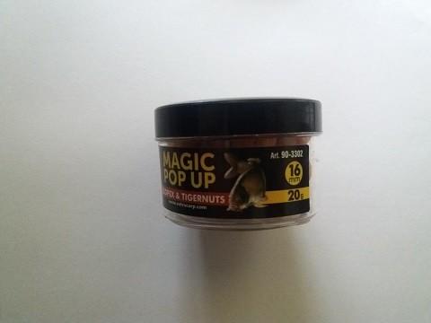 Magic pop up boile 16 mm SCOPEX/TIGERNUT Extra Carp