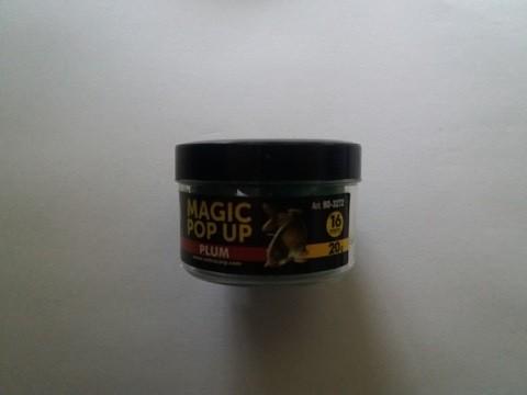 Magic pop up boile 16 mm ŠLJIVA Extra Carp