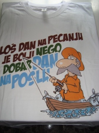 Majica-Loš dan na pecanju