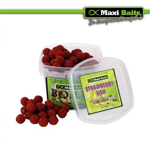 Maxi Baits Boile Strawberry Fish(Jagoda-riba) 150 gr