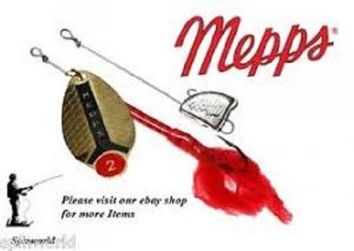 Mepps Lusox No2  zlatna