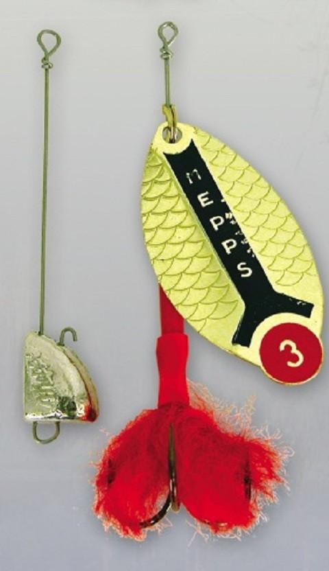 Mepps Lusox No3 zlatna