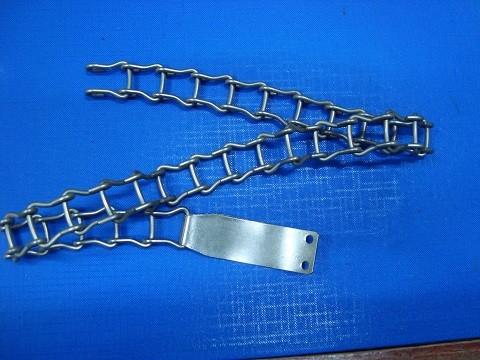 Metalna ogrlica za pse 55 cm.
