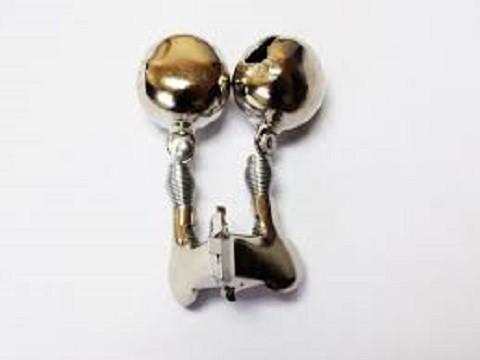 Metalno zvonce sa štipaljkom za ribolov