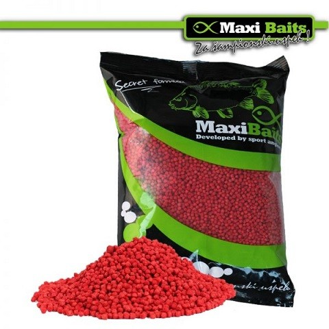 Micro Pellet Strawberry/fish mikro pelete 1 kg