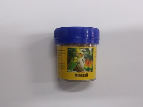 Minerali za ptice-Nicolaqua 100 gr/60 ml.