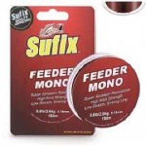 Najlon Sufix Feeder Mono Burgundy 0,23 mm. 150m