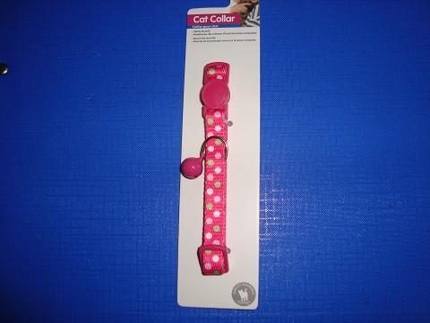 Ogrlica za mace roze-tufne 20-30 cm.