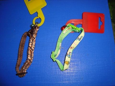 Ogrlica za mace-šarene 10mm/35 cm dužine