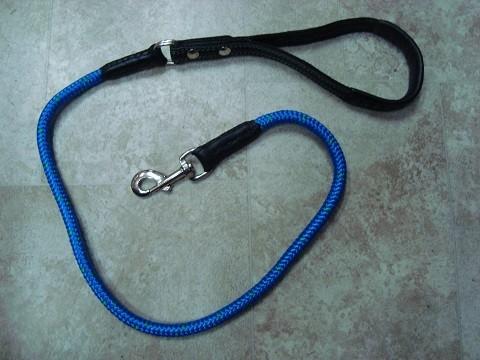 Povodac-padobransko uže/koža-plavi