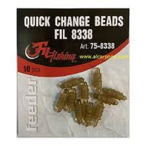 Quick change beads-feeder ribolov