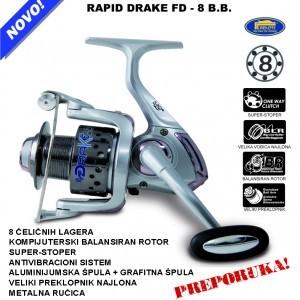 Rapid DRAKE FD – 8 B.B. Lineaeffe