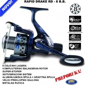 Rapid DRAKE RD – 8 B.B. Lineaeffe