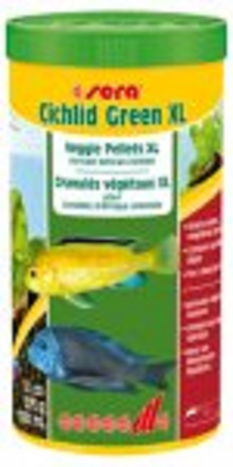 Sera Cichlid Green XL 1000 ml. 370 gr.