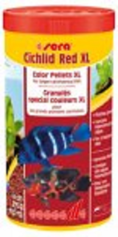 Sera Cichlid Red XL 1000 ml. 370 gr.