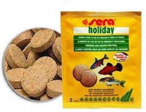 Sera Holiday 2 tablete hrana za godišnji odmor