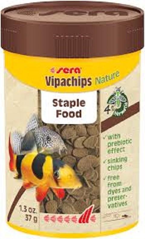 Sera-Hrana za čistače Vipachips Nature 250 ml