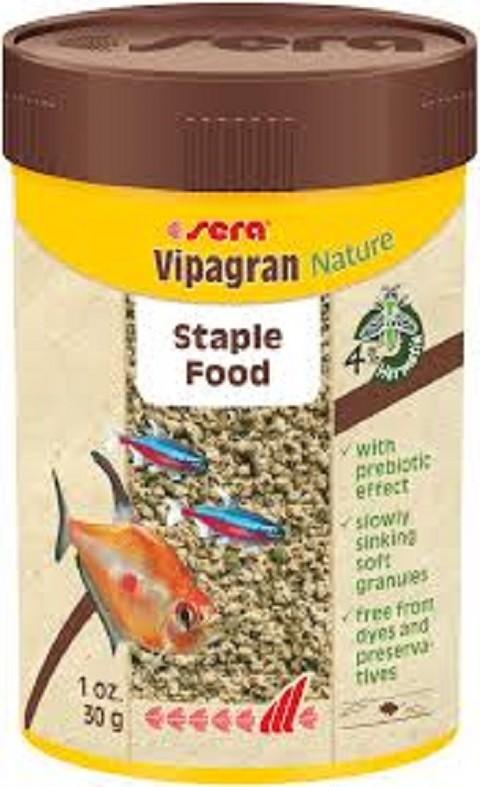 Sera-Hrana za tropske ribice Vipagran Nature 100 ml