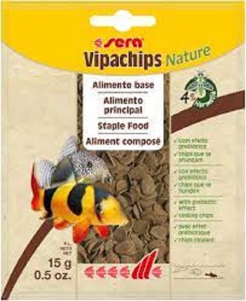 Sera Vipachips Nature hrana za čistače 15 gr.