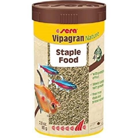 Sera Vipagran Nature granules-za tropske ribice 250 ml.