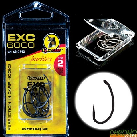 Udice EXC 6000 No 6 10 komada/pakovanje